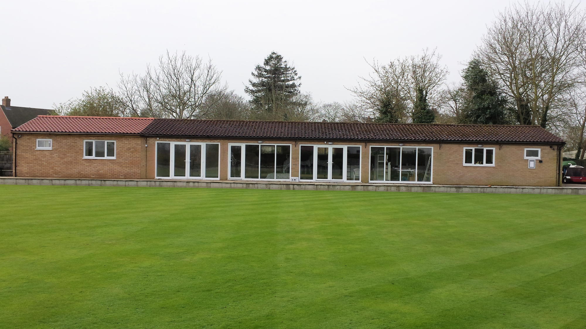 23.3.17 Green and extended Clubhouse
