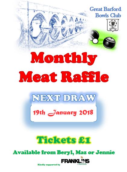 Meat Raffle January