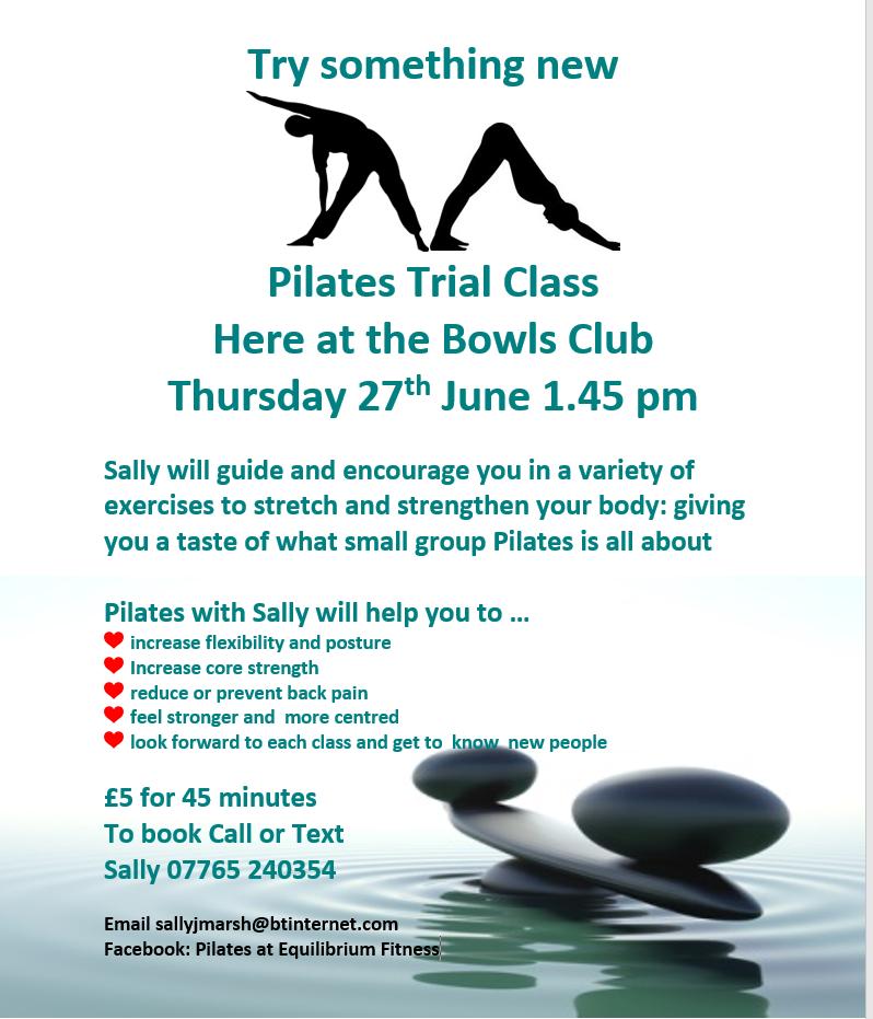Trial Pilates Class